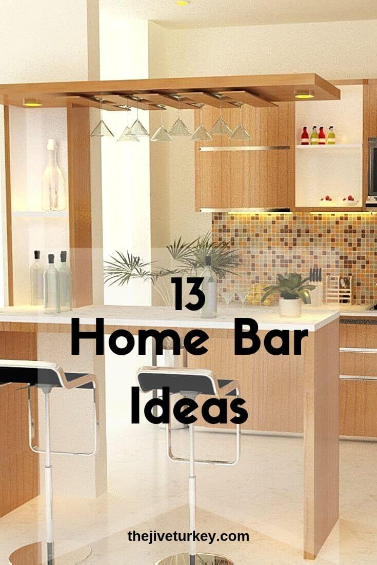 Home Bar Ideas with Cozy Nuance
