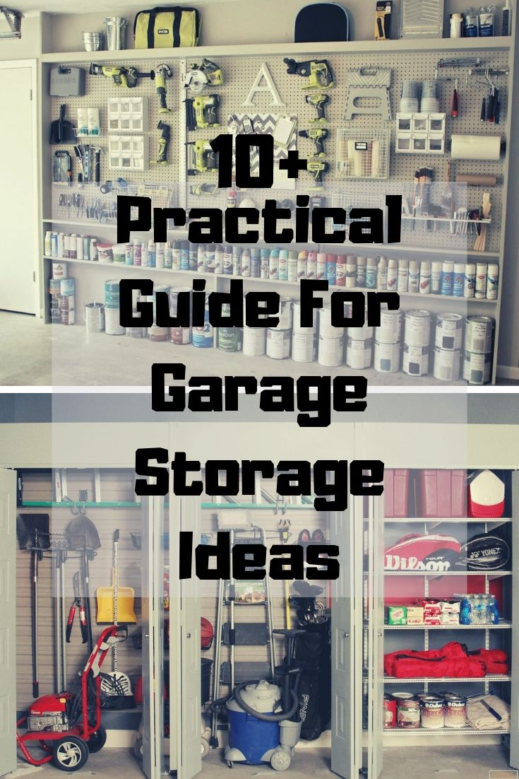 Practical Guide For Garage Storage Ideas