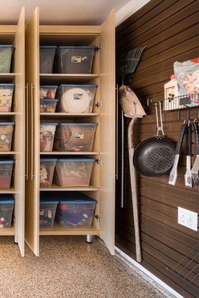 Wooden Garage Storage Ideas