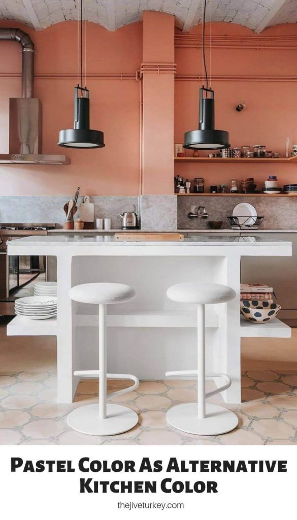 Pastel Color As Alternative Kitchen Color